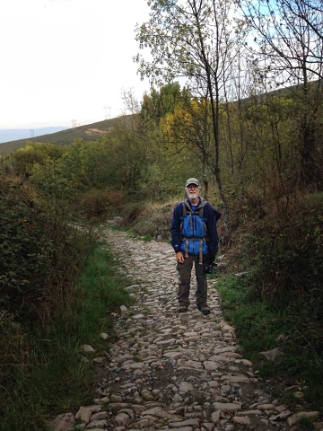 John on walk to Acebo-2